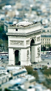 Triumphal Arch Paris iPhone 5s wallpaper