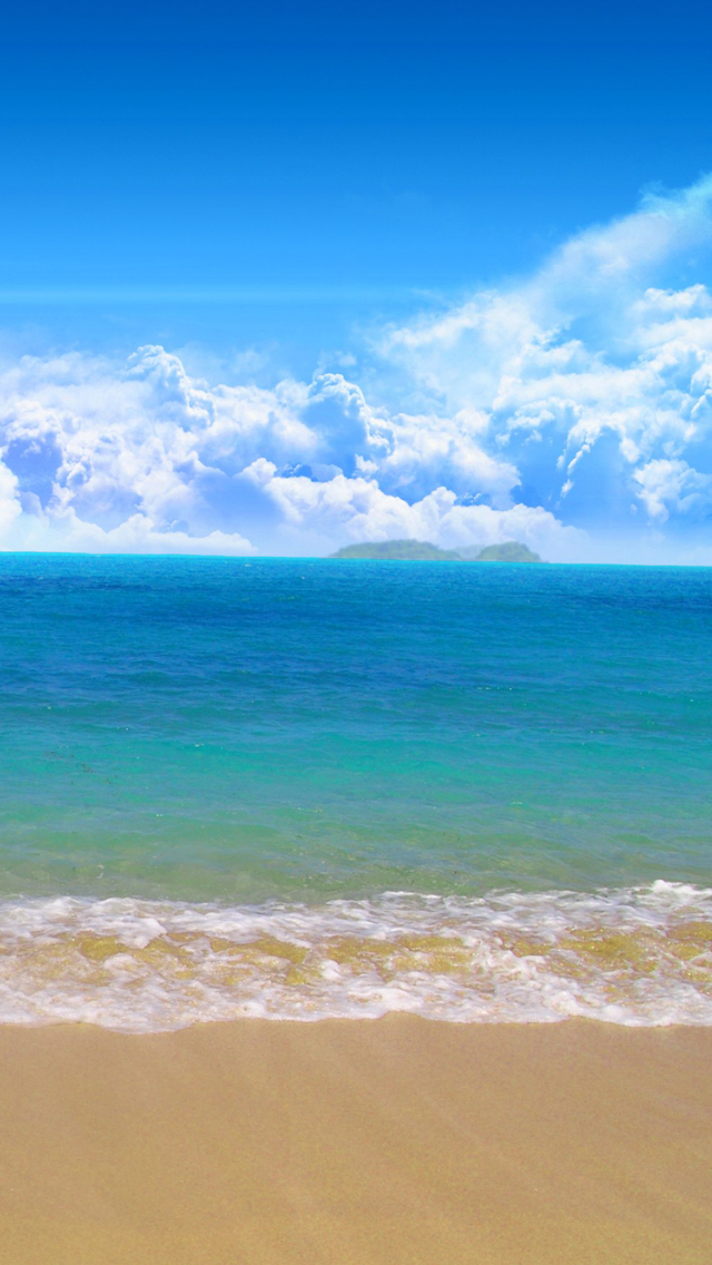 Sea And Beach Iphone Wallpapers Free Download