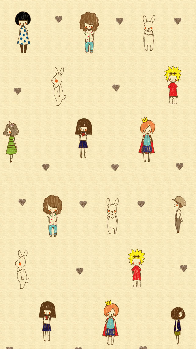 Cartoon Background Iphone Wallpapers Free Download