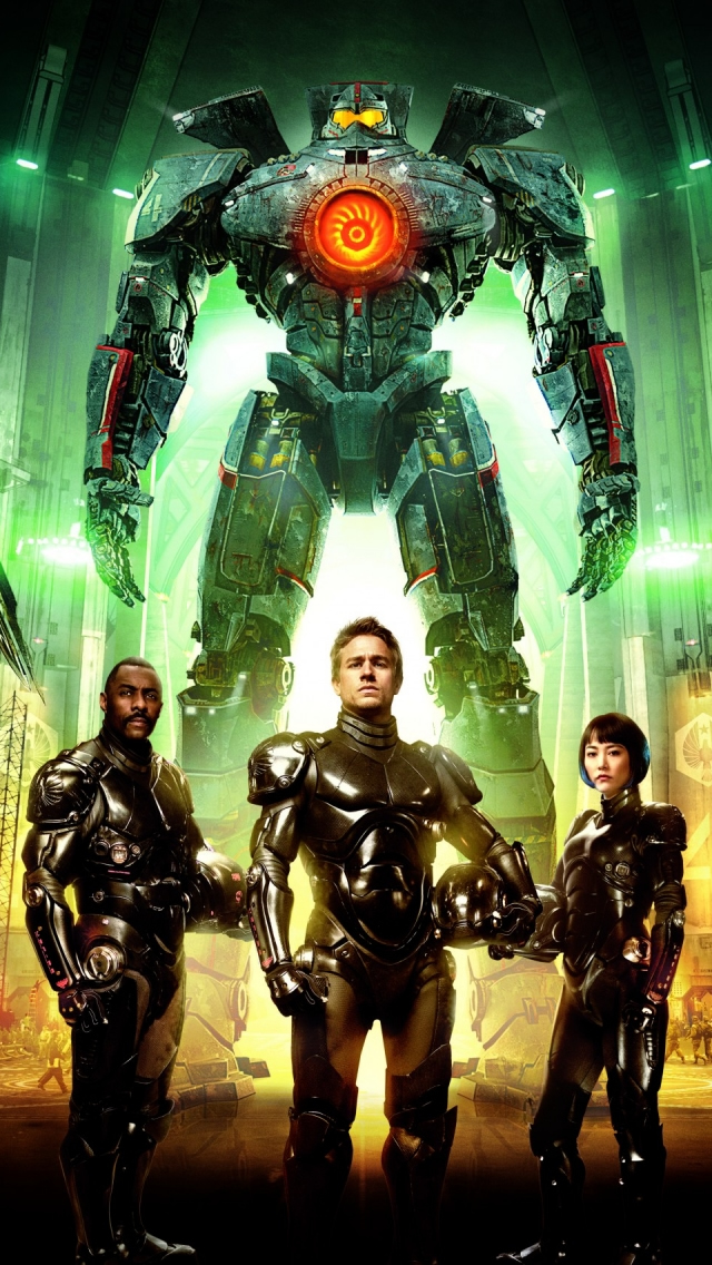 Pacific Rim Characters iPhone wallpaper