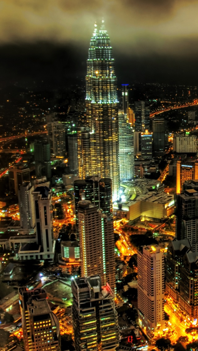 Kuala Lumpur Petronnas Towers Iphone Wallpapers Free Download