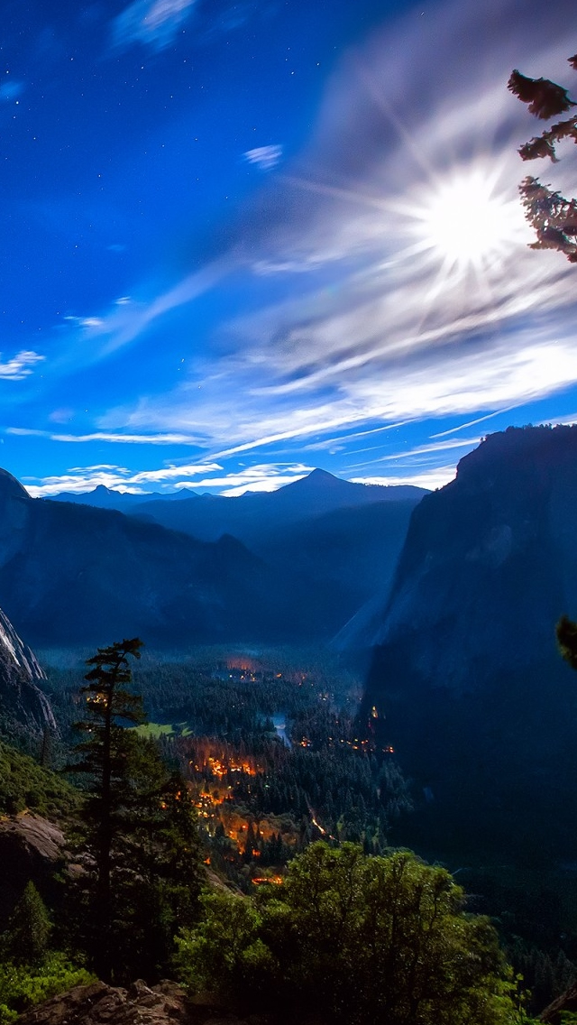 Yosemite National Park View Iphone Wallpapers Free Download