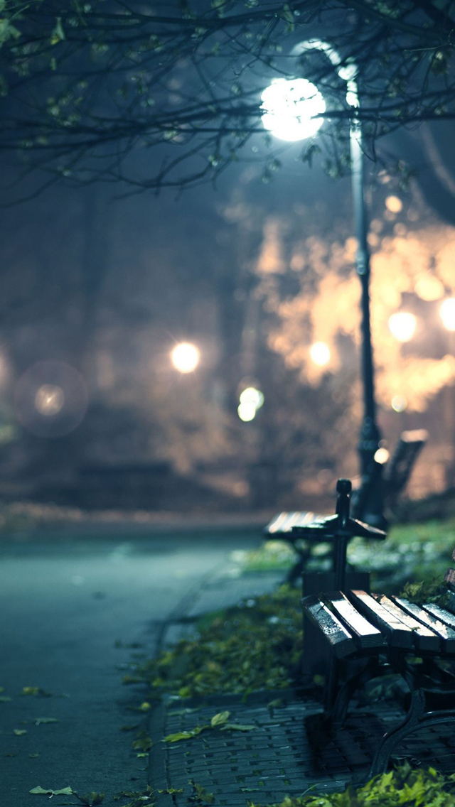 Bench iPhone wallpaper