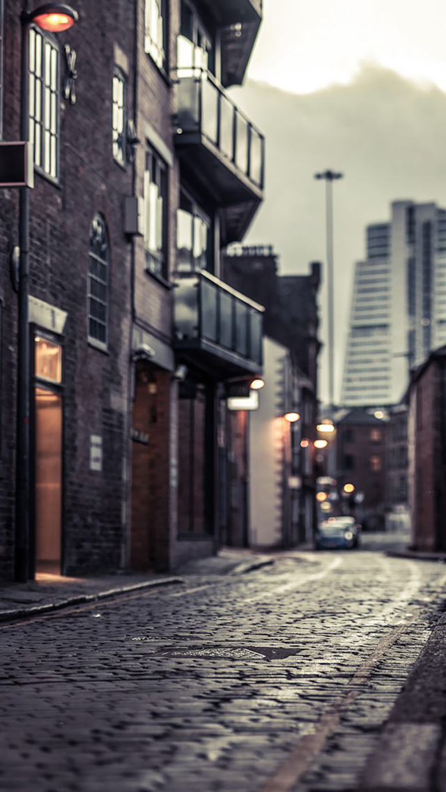 Stone Road iPhone wallpaper