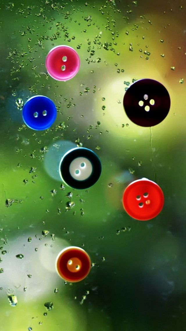 Glass Buttons iPhone wallpaper