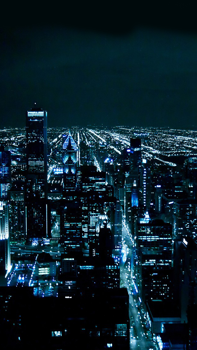 City night iPhone wallpaper