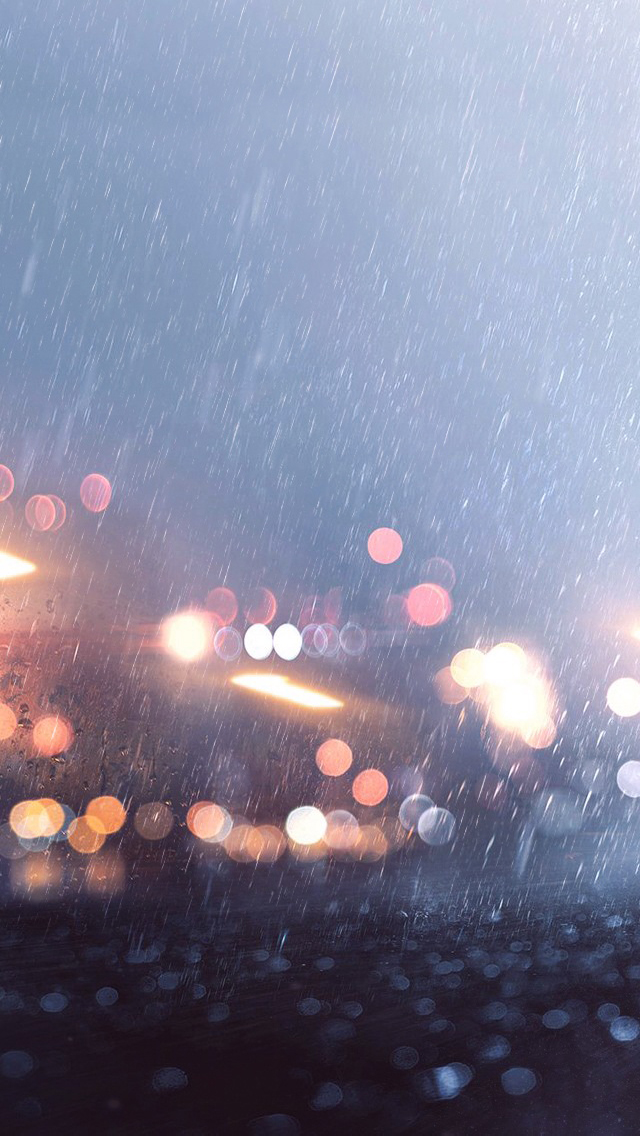 Lights bokeh iPhone wallpaper
