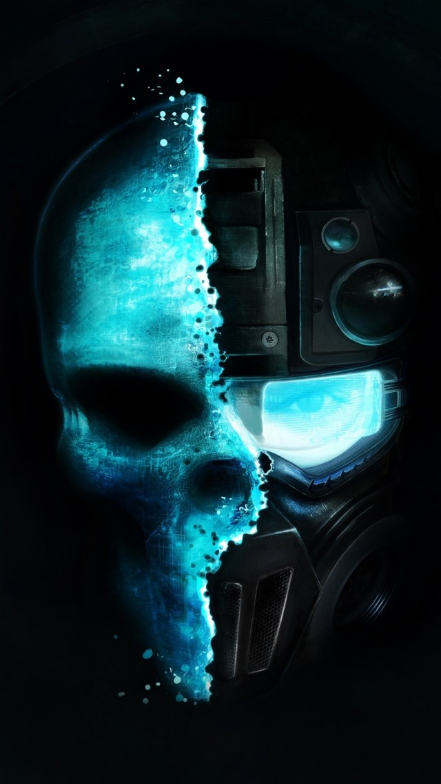 Tom Game Ghost Recon Skull iPhone wallpaper