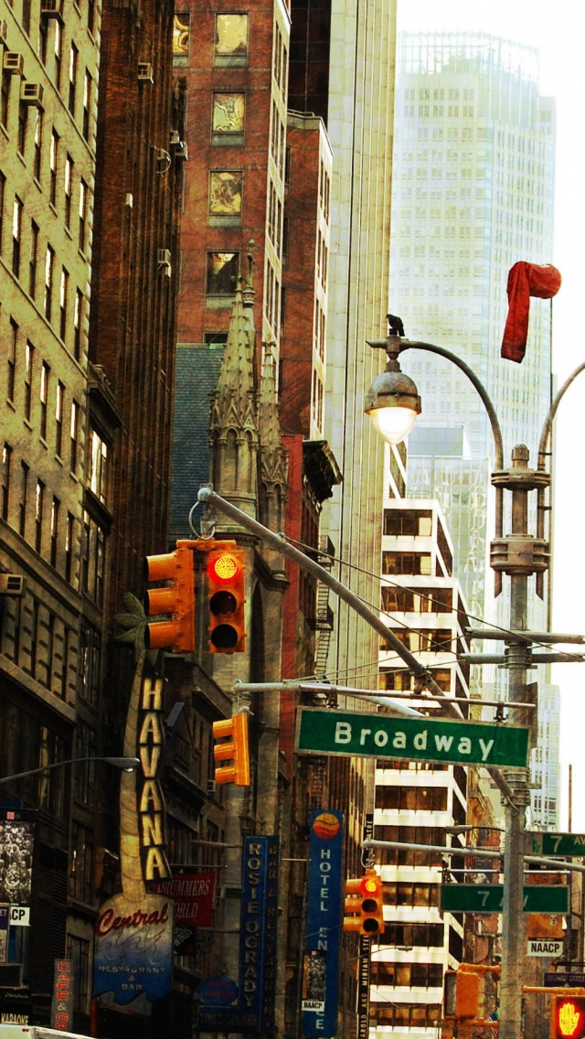 New York By Day iPhone wallpaper