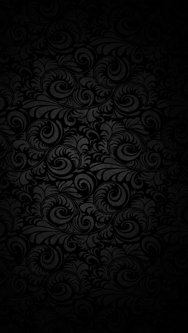Dark patterned background iPhone wallpaper