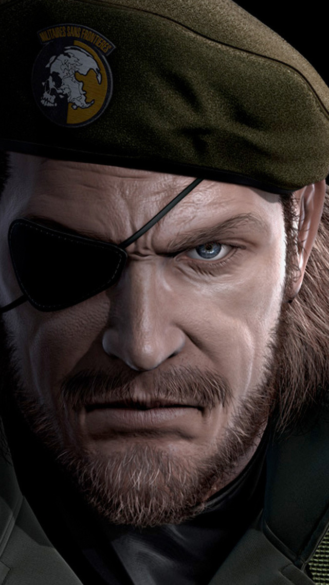 Big Boss Metal Gear Solid Eyepatch Iphone Wallpapers Free
