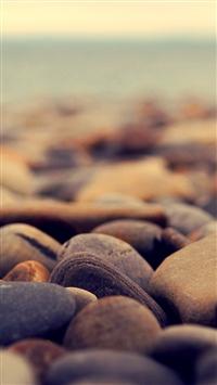 Stone beach iPhone 5s wallpaper