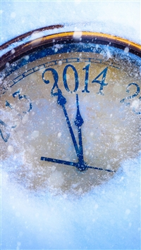 New years eve 2014 iPhone 5s wallpaper