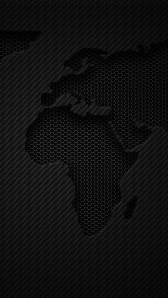 World Map Dark iPhone Wallpapers Free Download