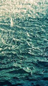 Blue water iPhone 5s wallpaper
