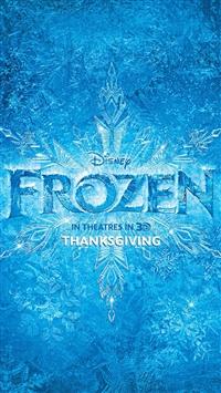 Frozen iPhone 5s wallpaper
