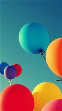 Holiday Balloon iPhone 5s wallpaper