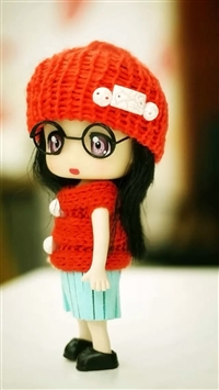 Wool doll iPhone 5s wallpaper