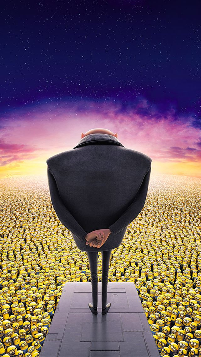 Despicable Me iPhone wallpaper