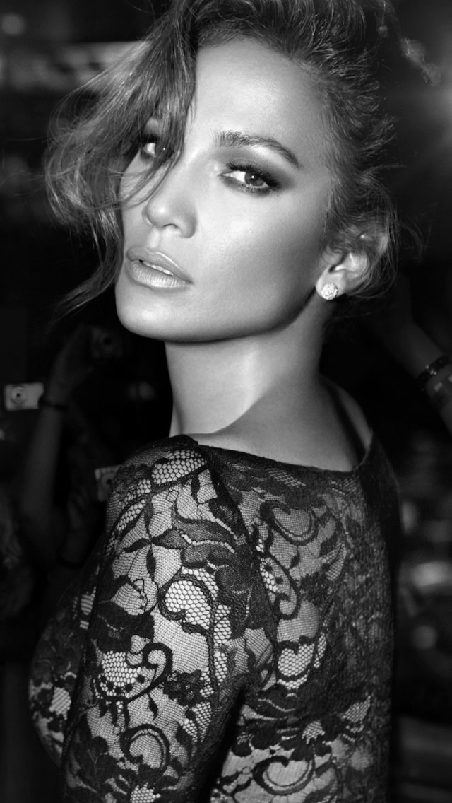 Jennifer Lopez Black And White Iphone Wallpapers Free Download