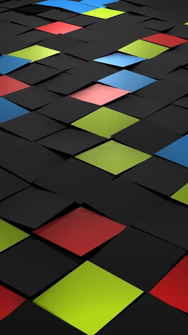 Tiles 3d iPhone Wallpapers Free Download