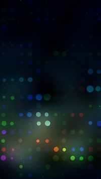 Blurred Dots iPhone 5s wallpaper
