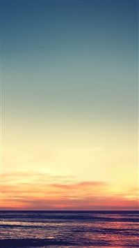 Tranquil sunset iPhone 5s wallpaper