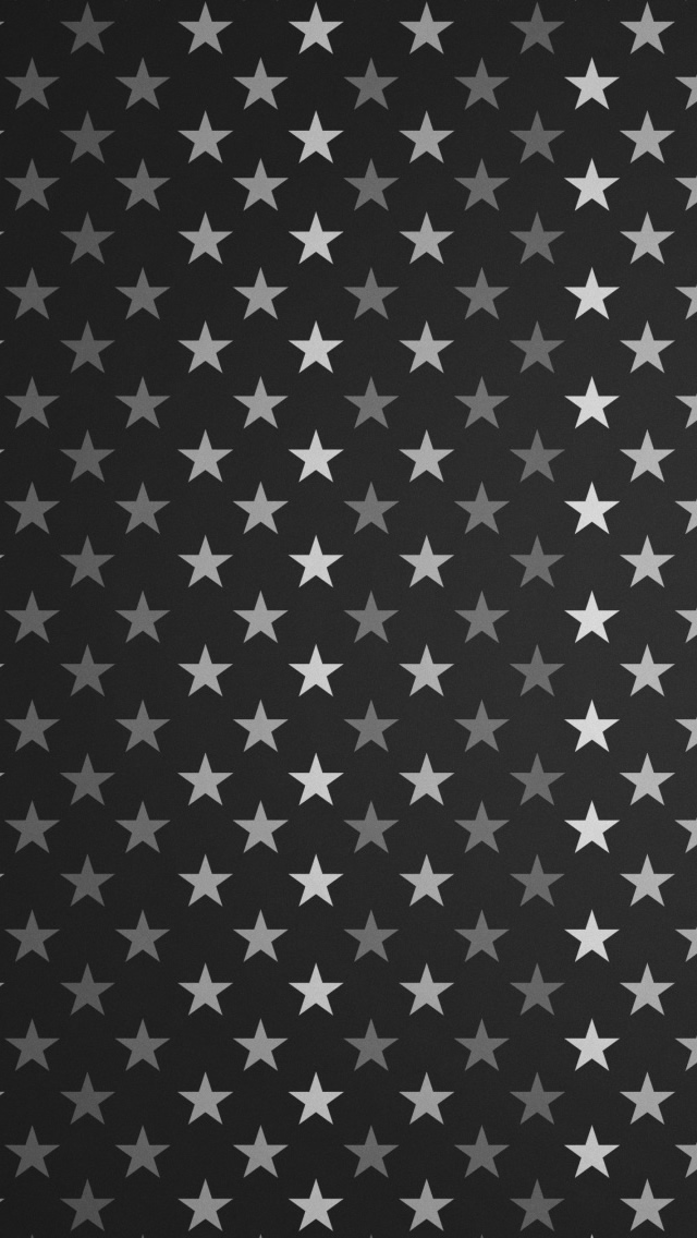 Stars Pattern Black And White Iphone Wallpapers Free Download