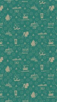 Meknes Pattern iPhone 5s wallpaper