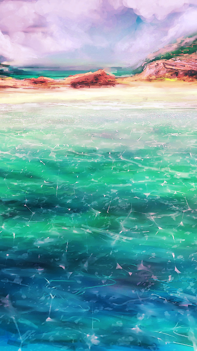 Sea Art iPhone wallpaper