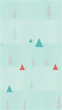 simple winter pattern iPhone 5s wallpaper