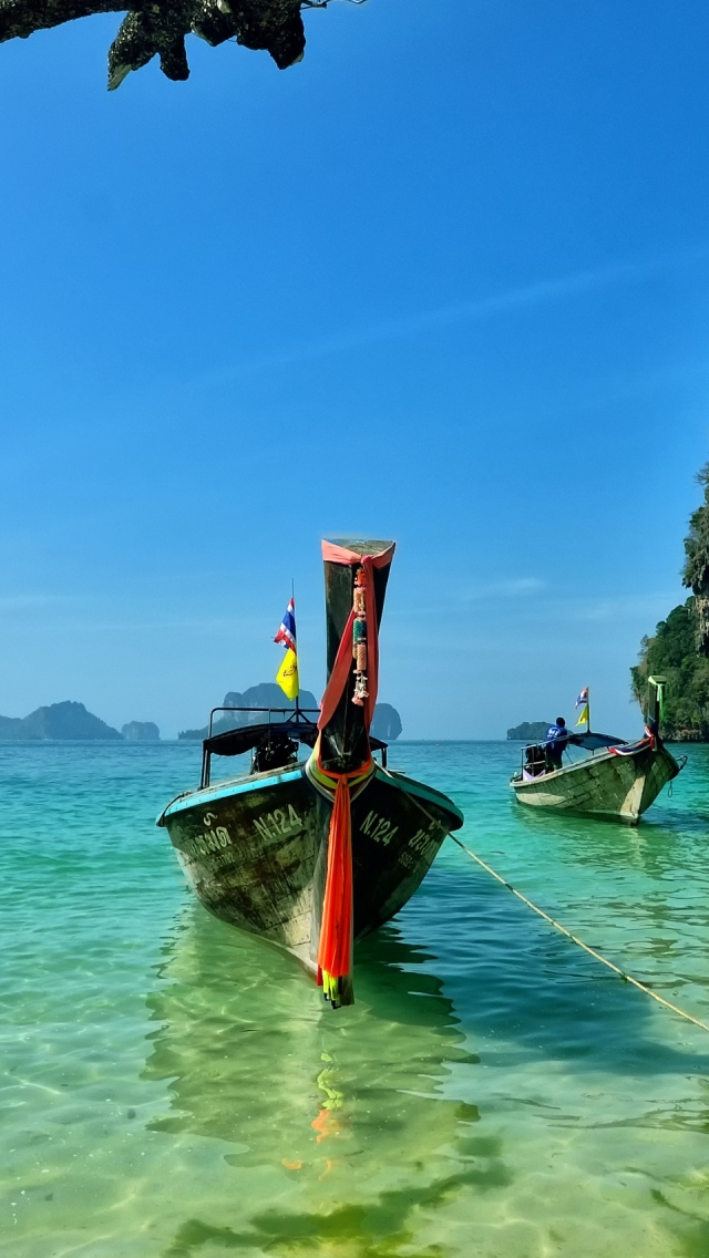 Railay Beach Thailand Iphone Wallpapers Free Download