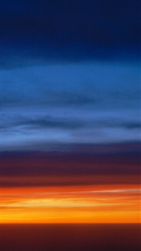 sunset skyscape iPhone 5s wallpaper