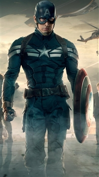Captain america the winter soldier iPhone 5s wallpaper