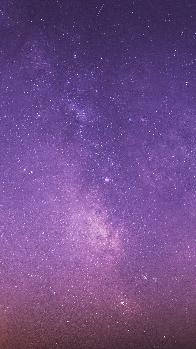 Amazing Milky Way iPhone wallpaper