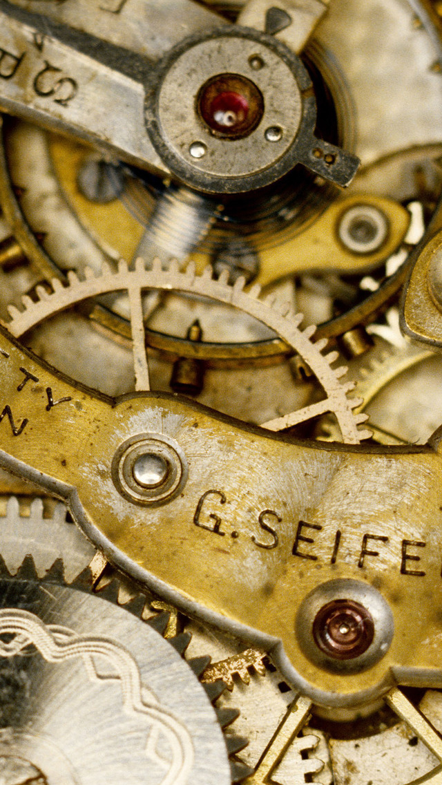 Watch Mechanism iPhone wallpaper