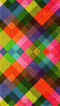 Multicolored Tile Pattern Abstract iPhone 5s wallpaper