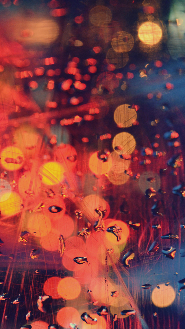 Raindrops Scratch Glass Iphone Wallpapers Free Download