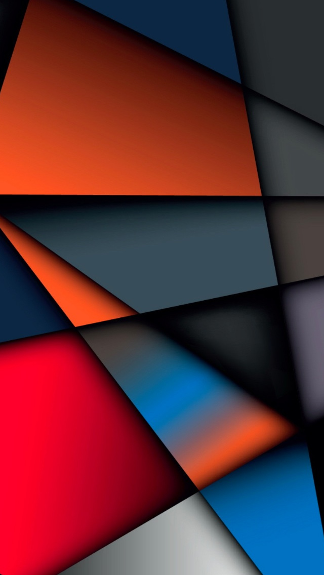 Abstract Multicolor Geometry Shape iPhone wallpaper