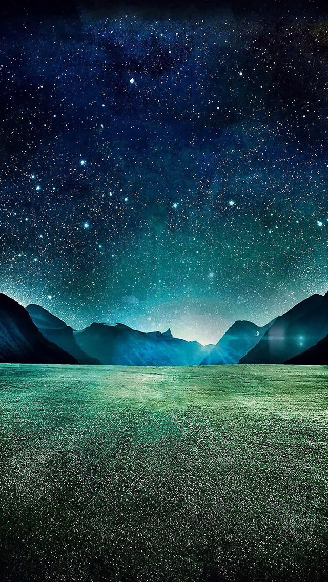 The Starry Night Iphone Wallpapers Free Download