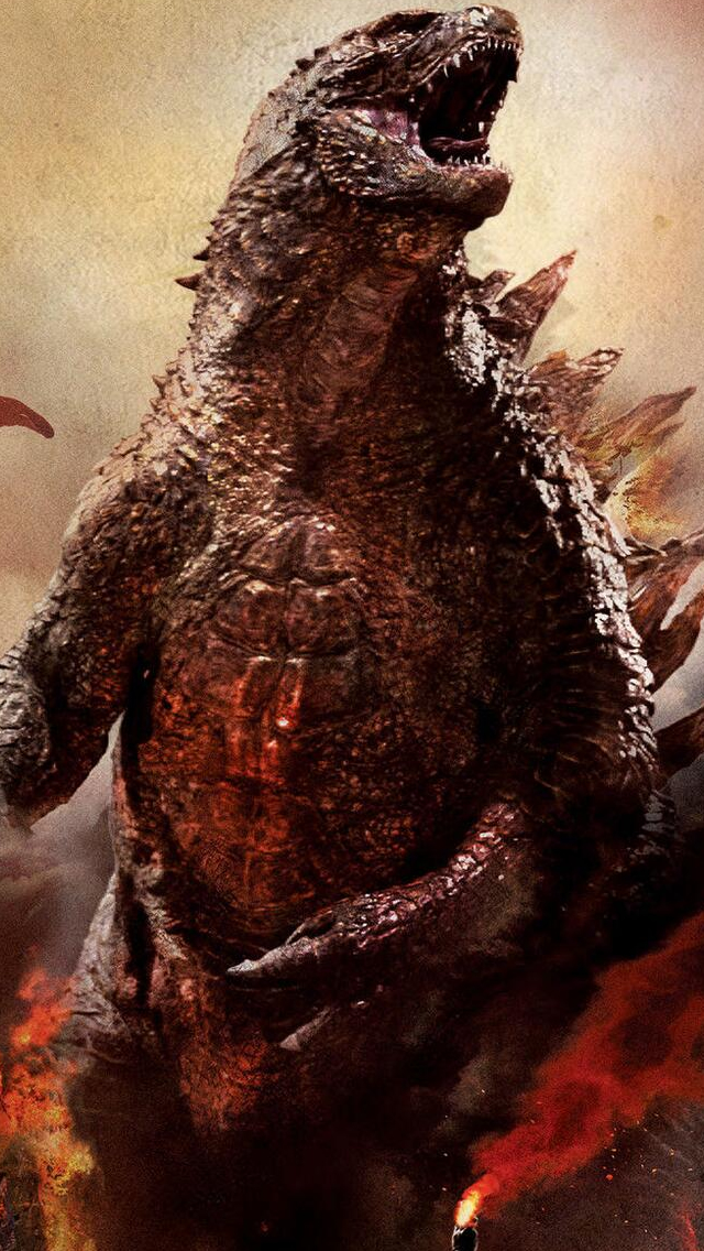 Godzilla iPhone wallpaper