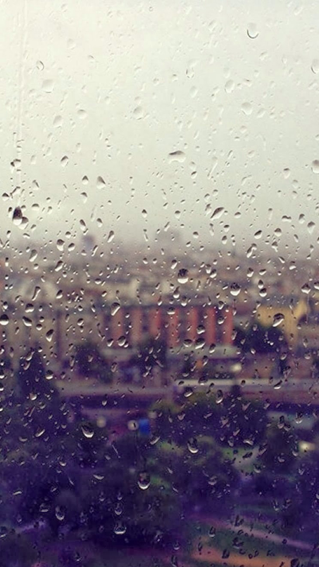 Rain Drop Iphone Wallpapers Free Download