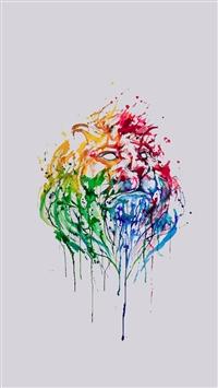 Abstract Illustration Lion King iphone wallpaper ilikewallpaper com 200