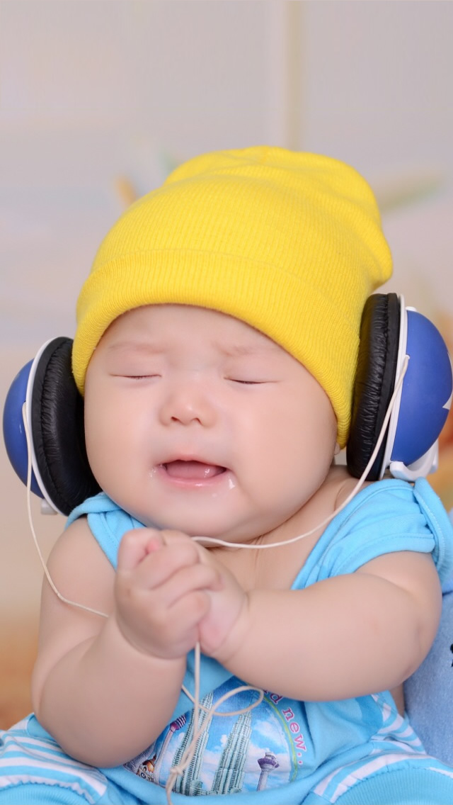 Baby love Music iPhone wallpaper