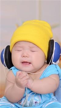 Baby love Music iPhone 5s wallpaper