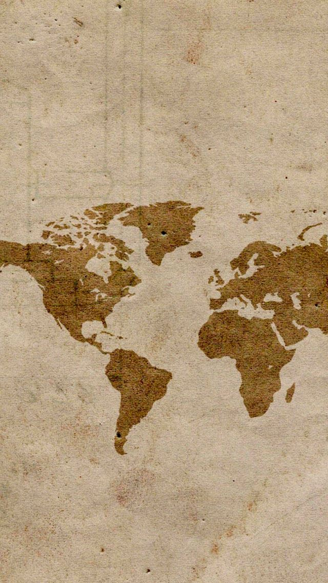 Map iPhone wallpaper