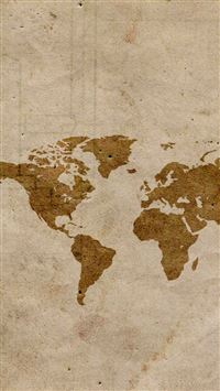 Map iPhone 5s wallpaper