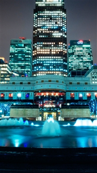 Canary Wharf  iPhone 5s wallpaper