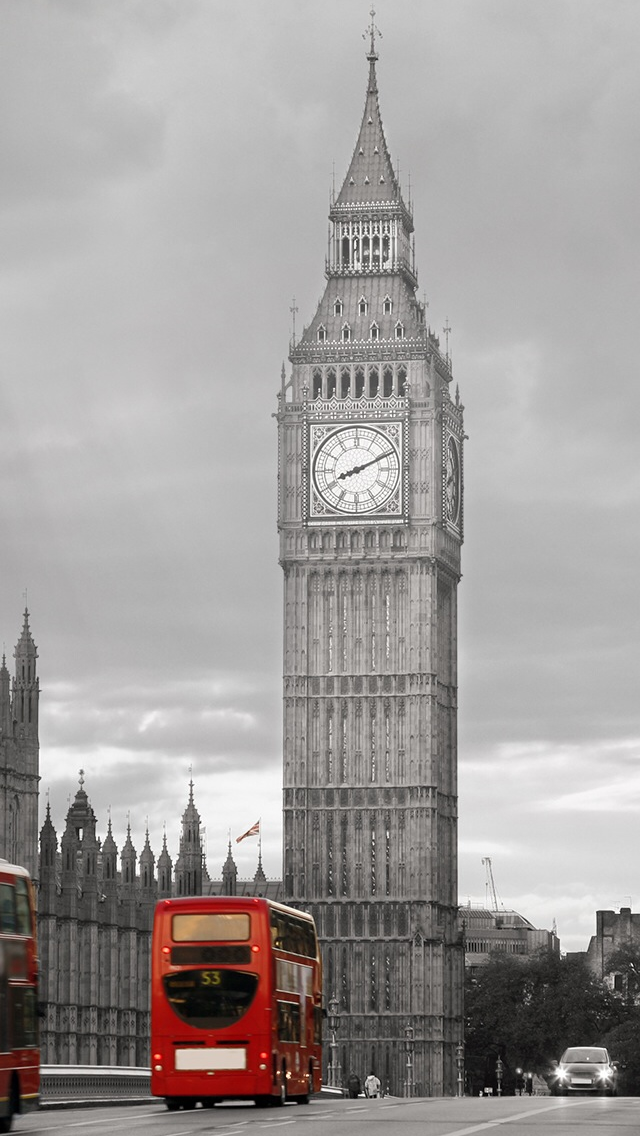 Big Ben UK Cityscape iPhone wallpaper