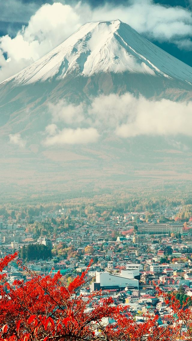 Mount Fuji In Japan iPhone wallpaper